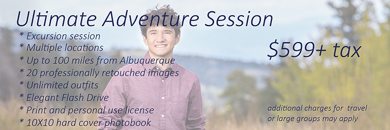 Ultimate Adventure Session $599 + tax